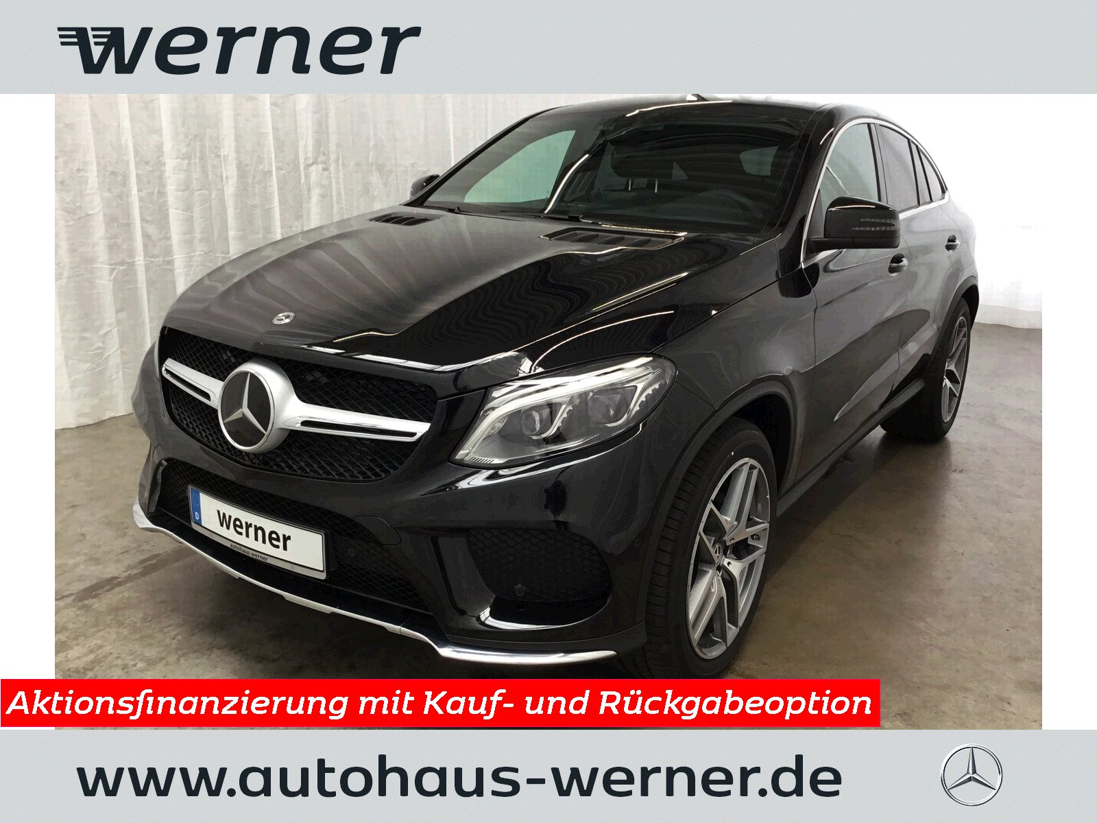 MERCEDES-BENZ GLE 350 d 4MATIC Coupé AMG Automatik