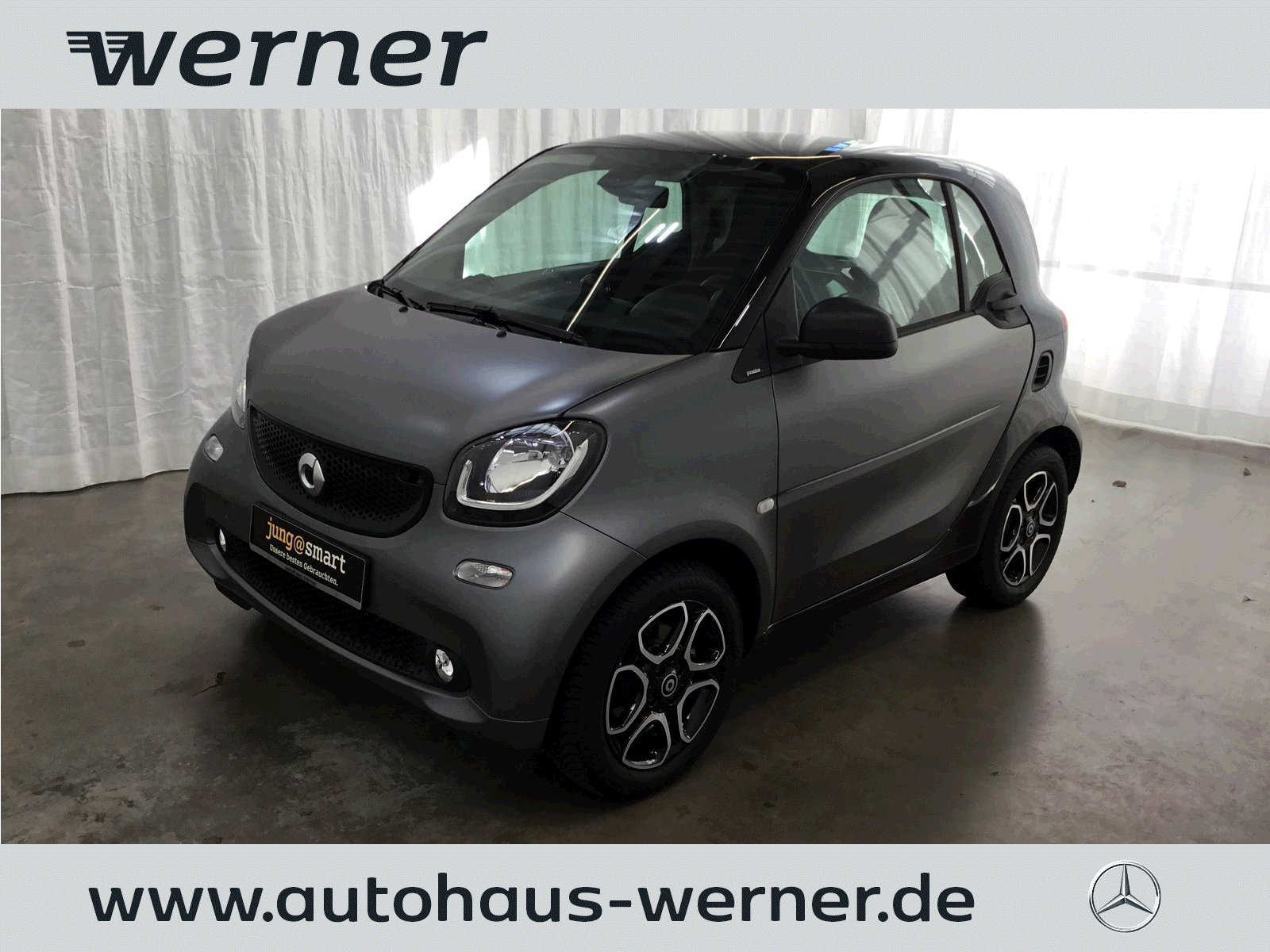 SMART fortwo coupe 66 kw passion twinamic