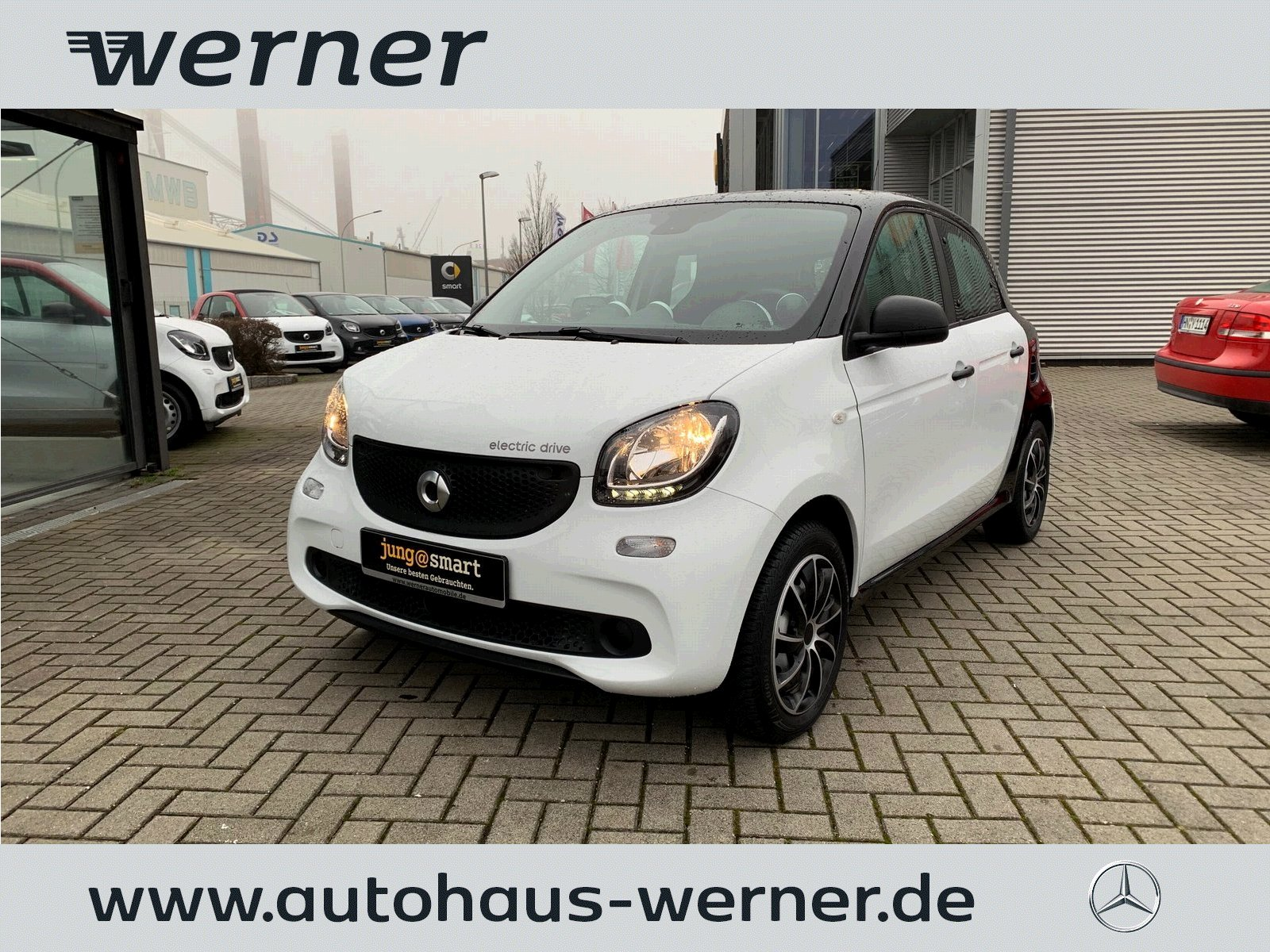 SMART forfour electric drive 60 kw Serienausstattung