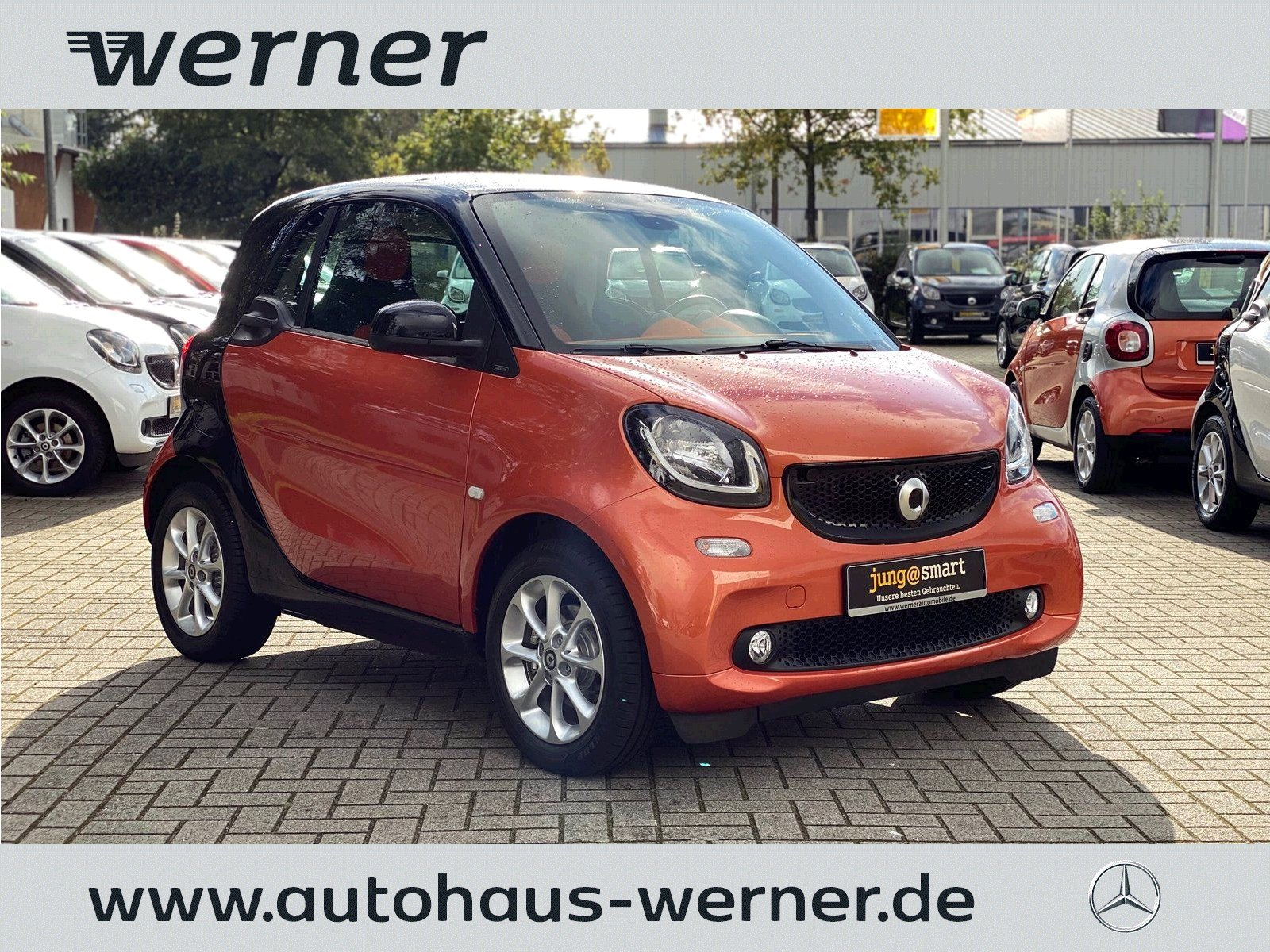 SMART fortwo coupe 52 kw passion twinamic