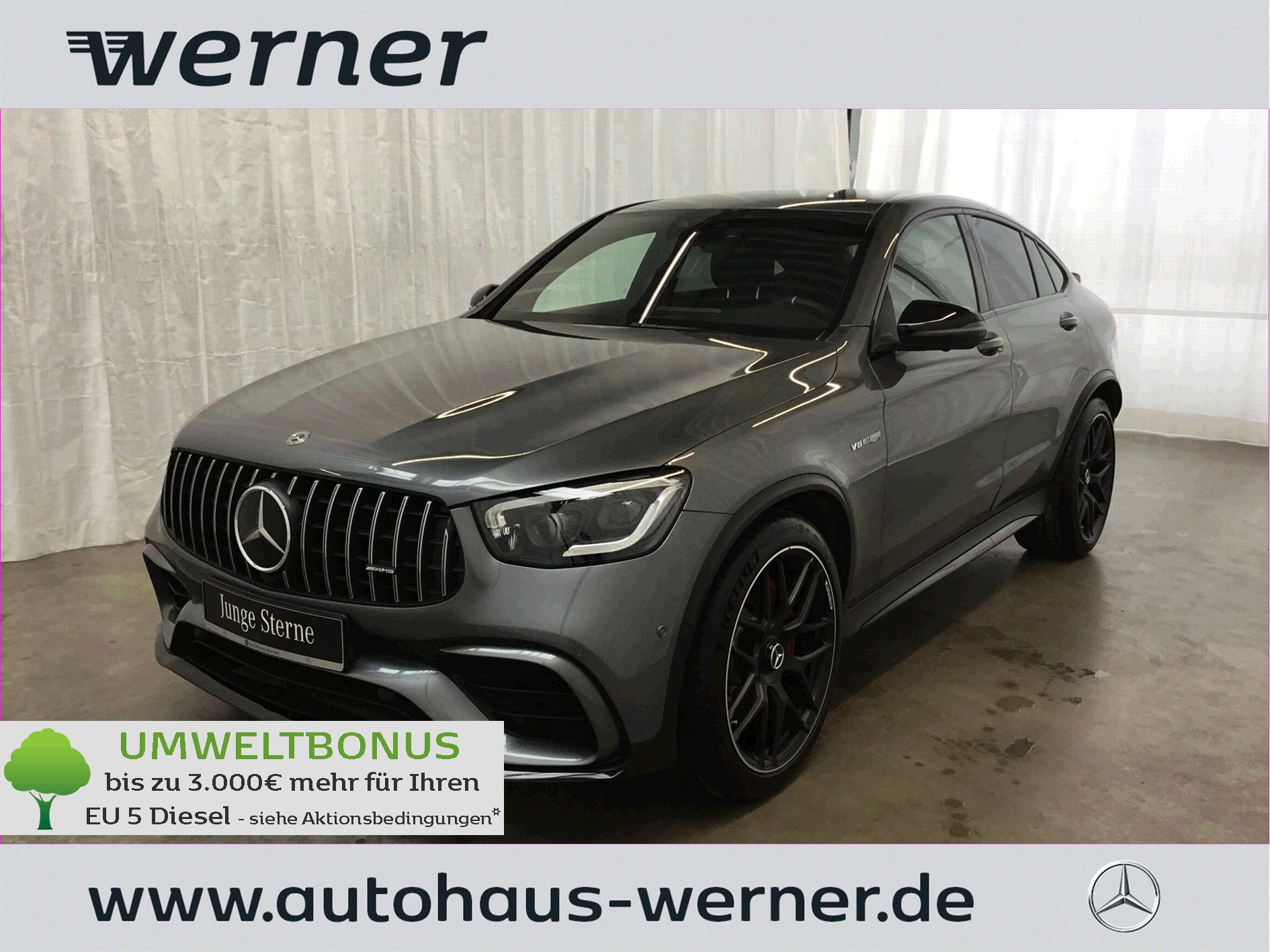 MERCEDES-BENZ Mercedes-AMG GLC 63 S 4M+ Coupe
