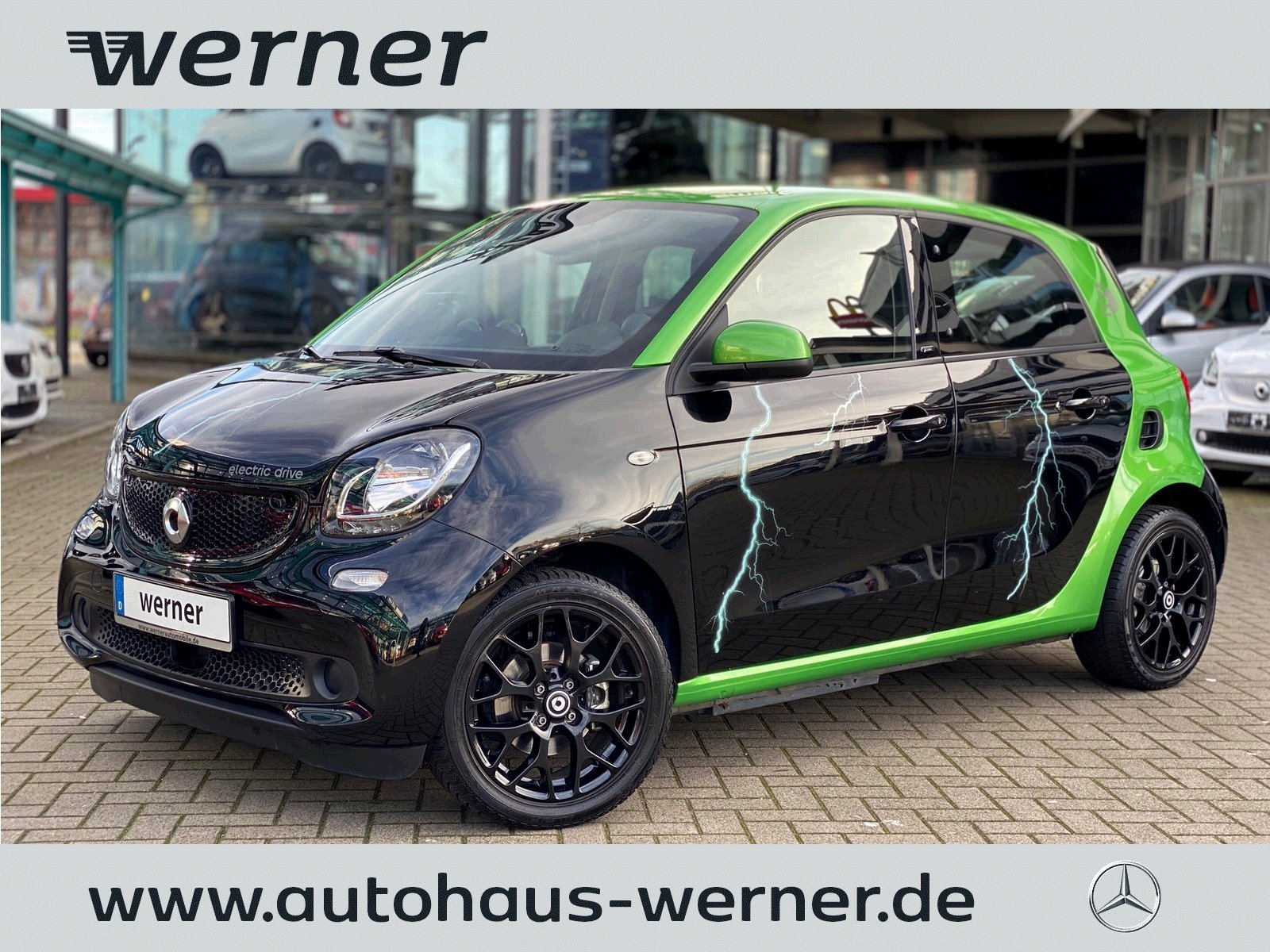 SMART forfour electric drive 60 kw prime