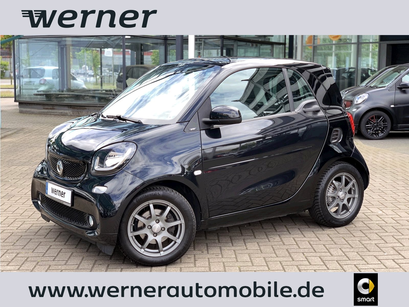 SMART fortwo coupé 66 kw prime twinamic