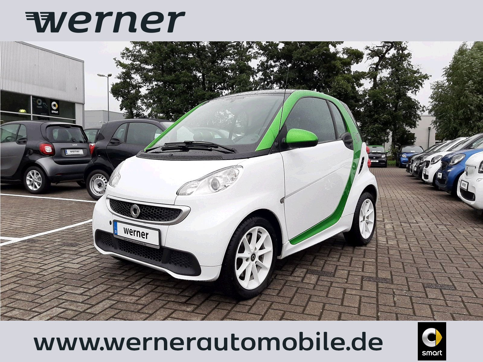 SMART fortwo electric drive coupé 55 KW