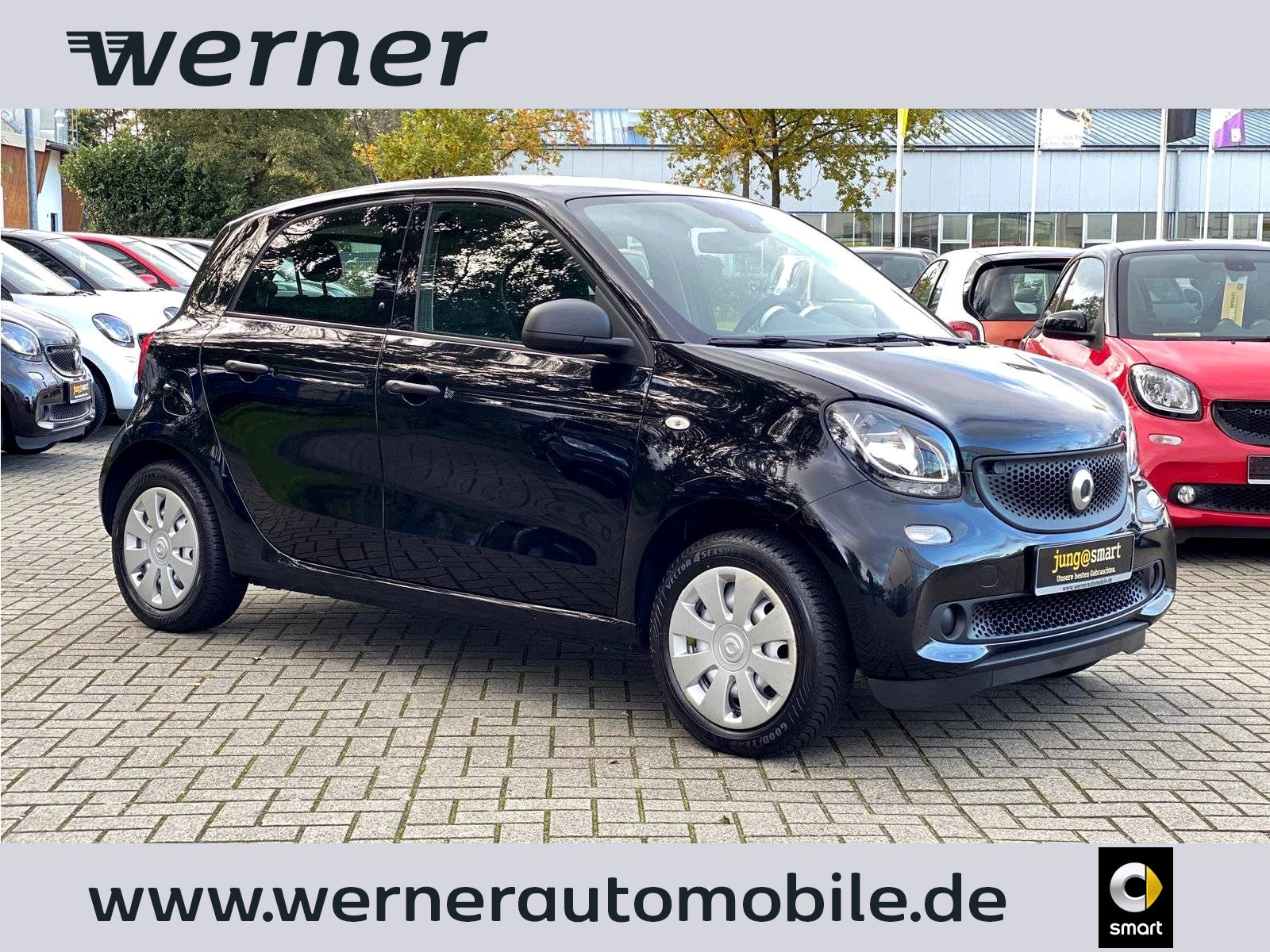 SMART forfour 52 kW twinamic
