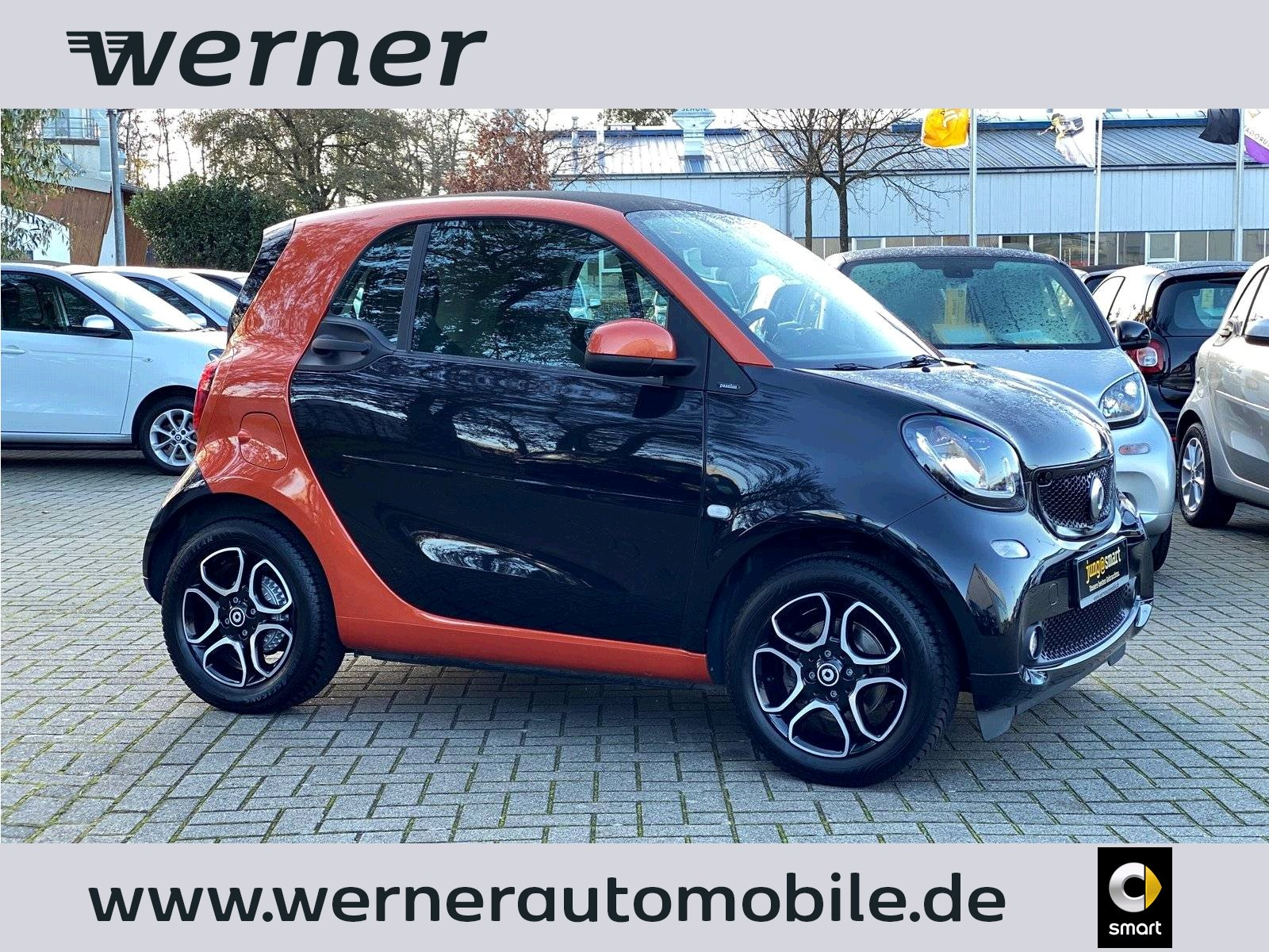 SMART fortwo coupé 66 kW passion twinamic