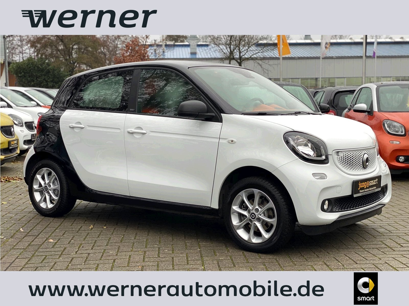 SMART forfour 52 kW twinamic passion Navi