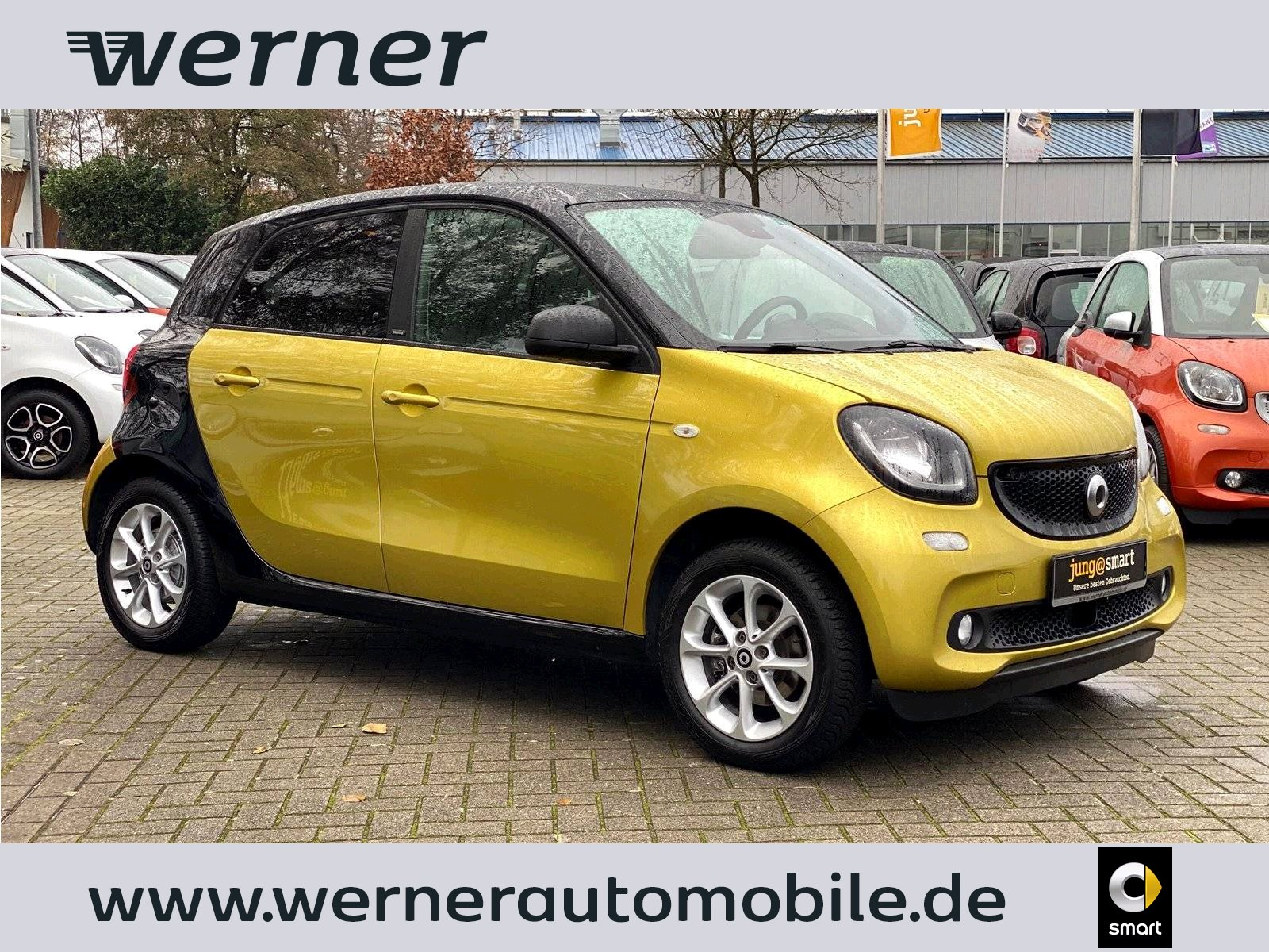 SMART forfour 66 kW passion twinamic Navi