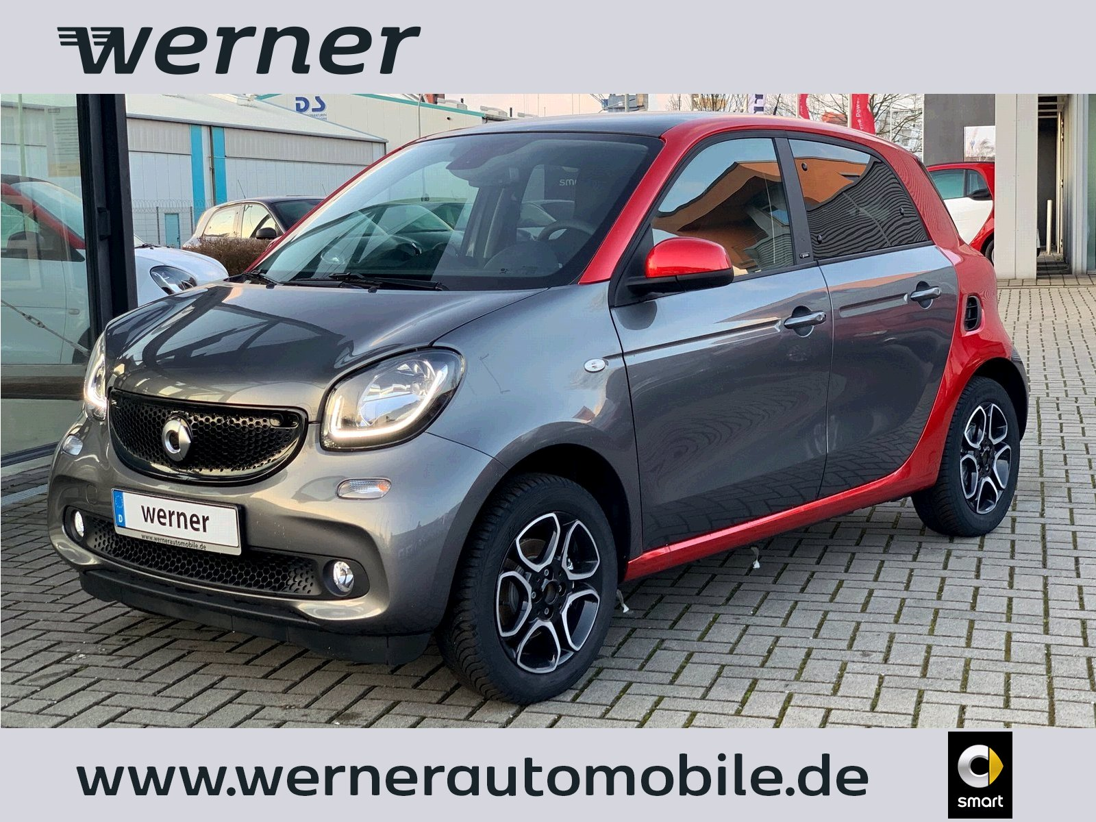 SMART forfour 66 kw prime twinamic