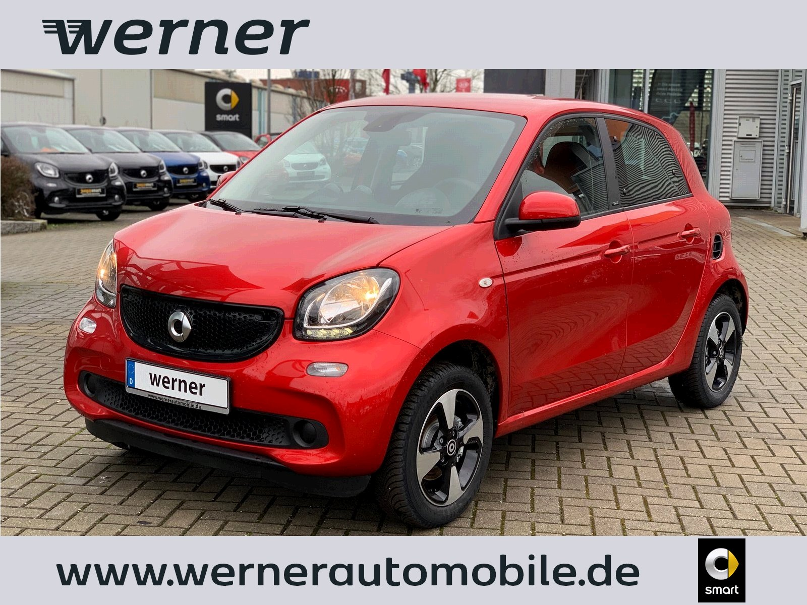 SMART forfour 52 kW passion twinamic
