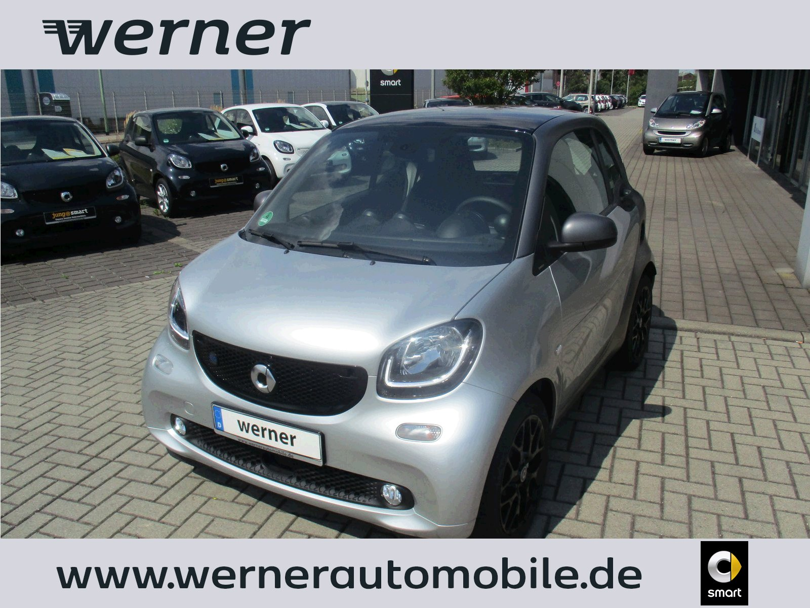 SMART EQ fortwo coupe 60 kw passion