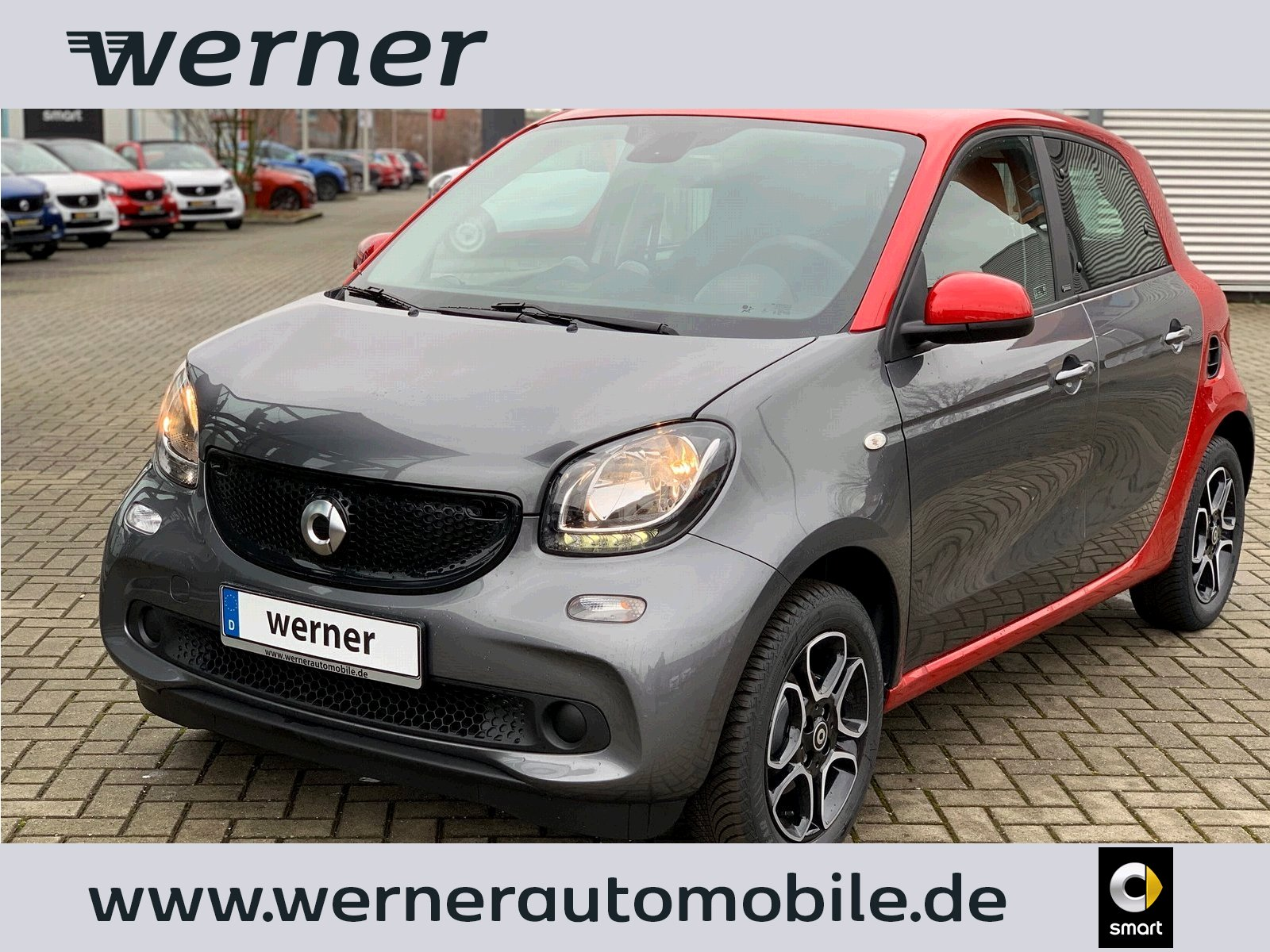 SMART forfour 66 kW passion twinamic