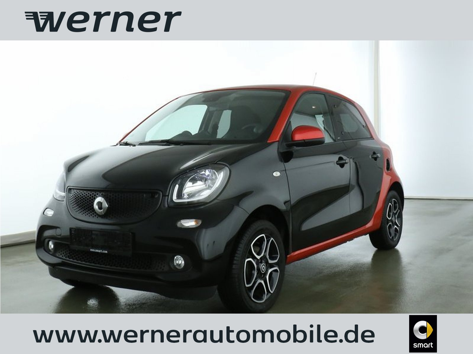 SMART forfour 52 kw prime twinamic