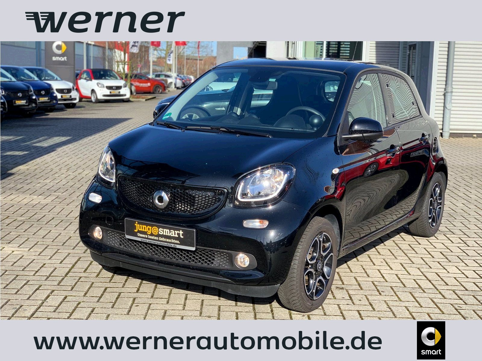 SMART forfour 52 kW prime