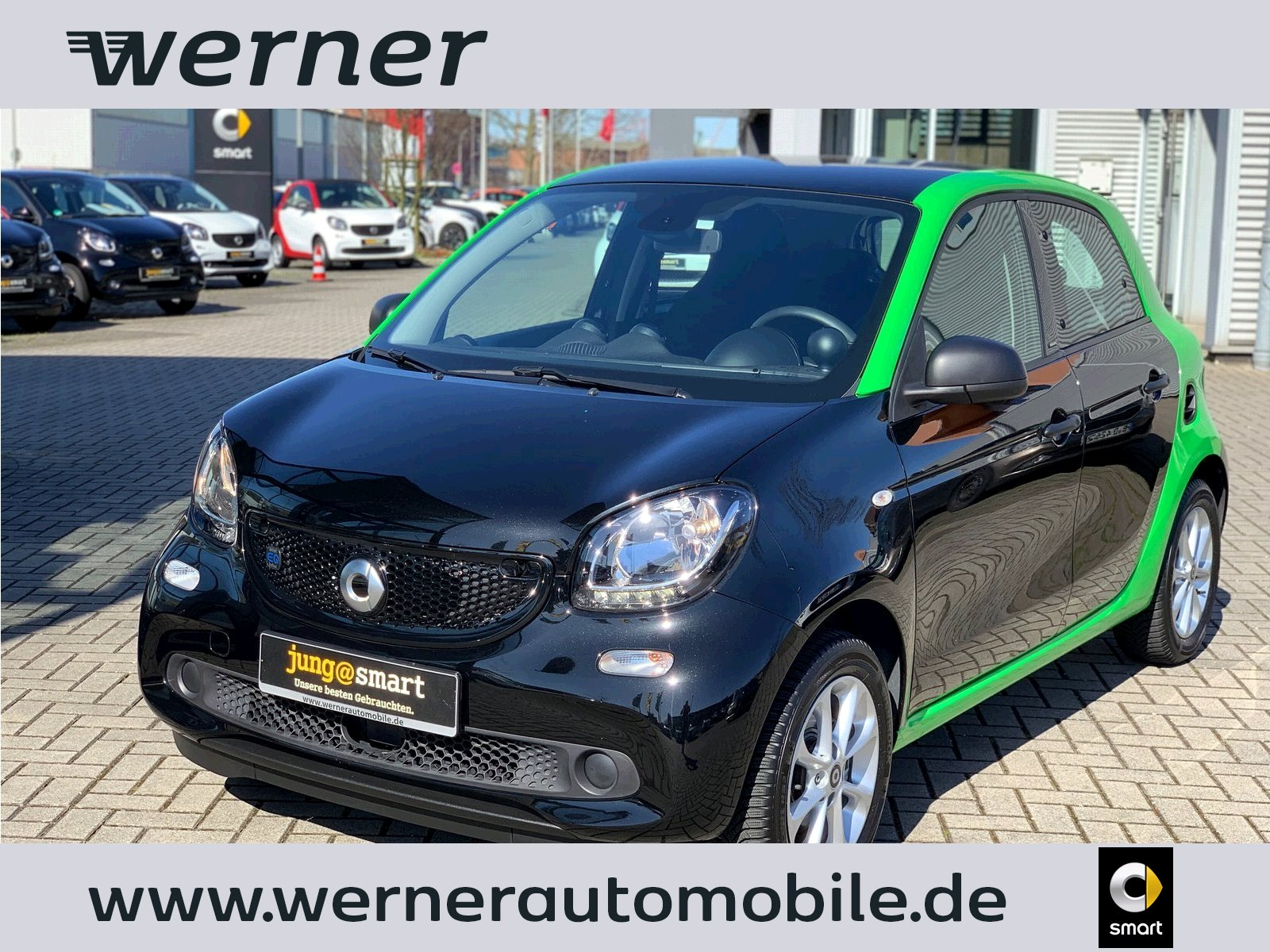 SMART forfour electric drive 60 kw passion