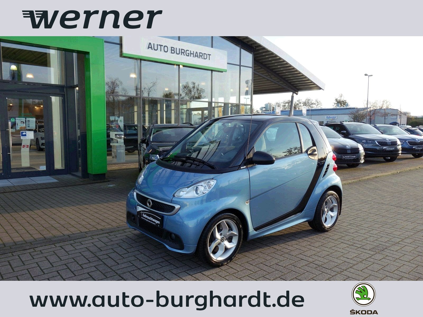 SMART fortwo coupe mhd pulse