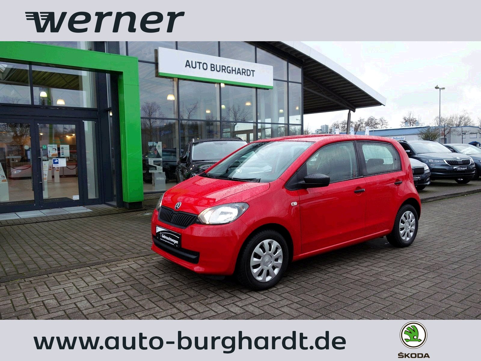 SKODA Citigo 1.0 G-TEC EcoFuel Cool Edition