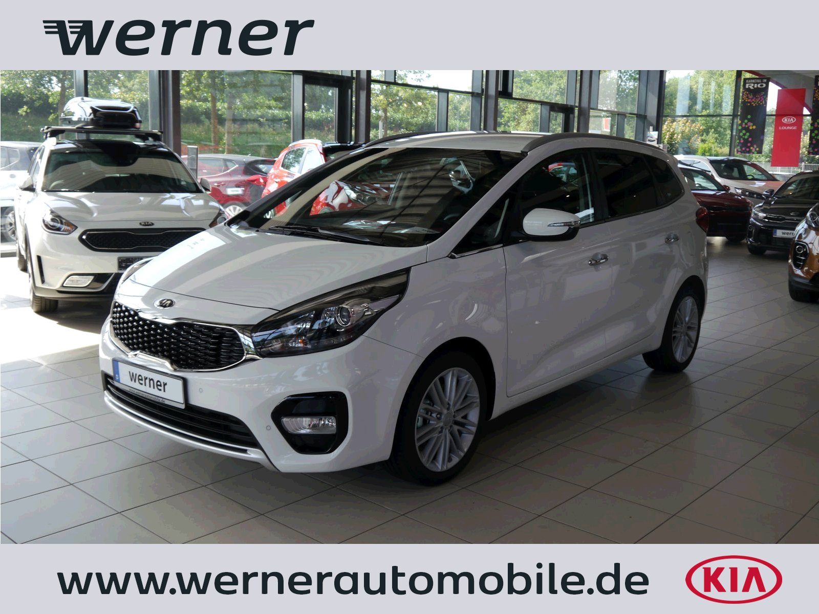 KIA Carens RP 1.7 CRDi 141 Dream Team DCT Premium+