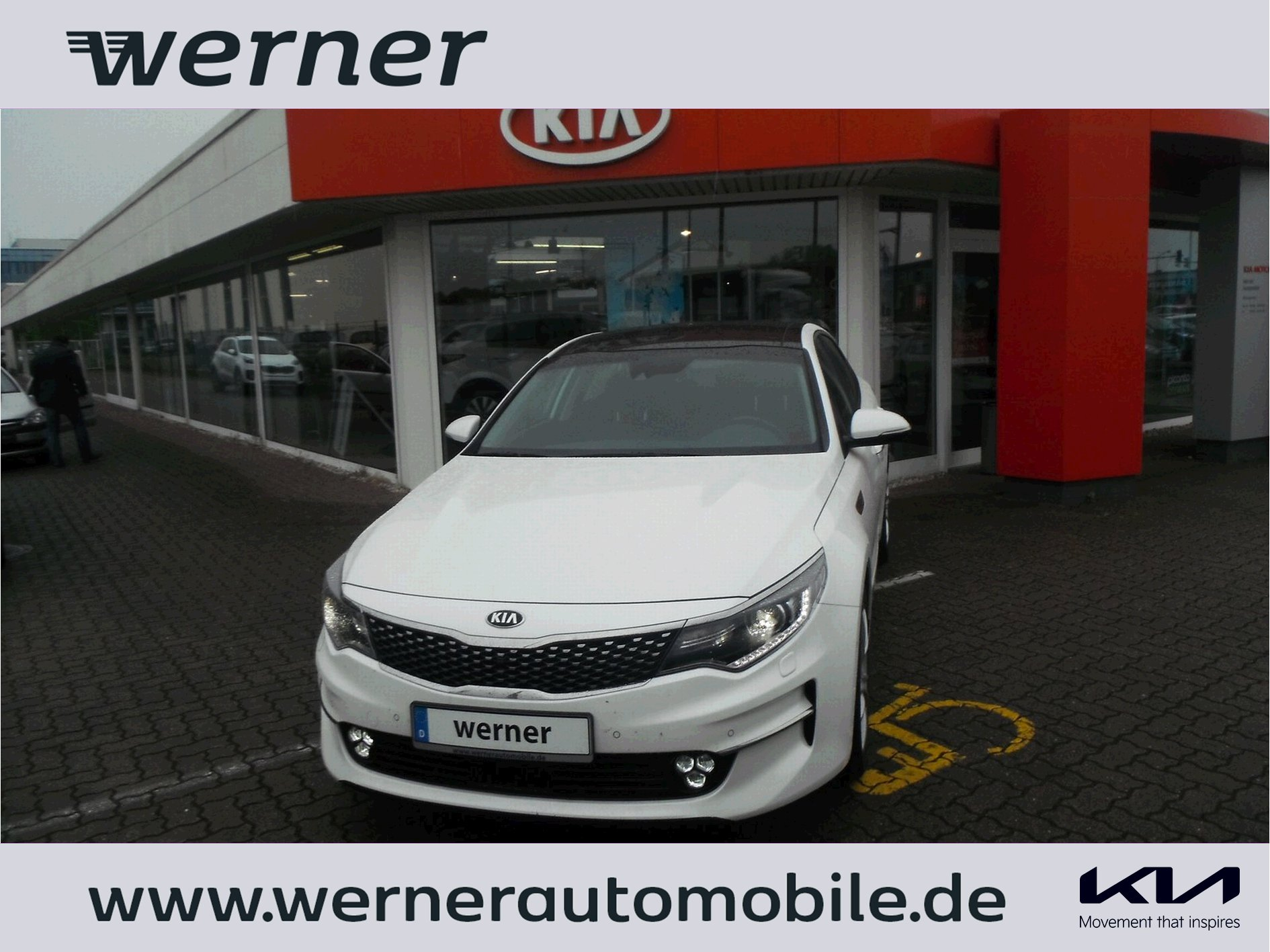 KIA Optima JF 1.7 CRDi Spirit DCT Technik Leder GD  Ladestastion