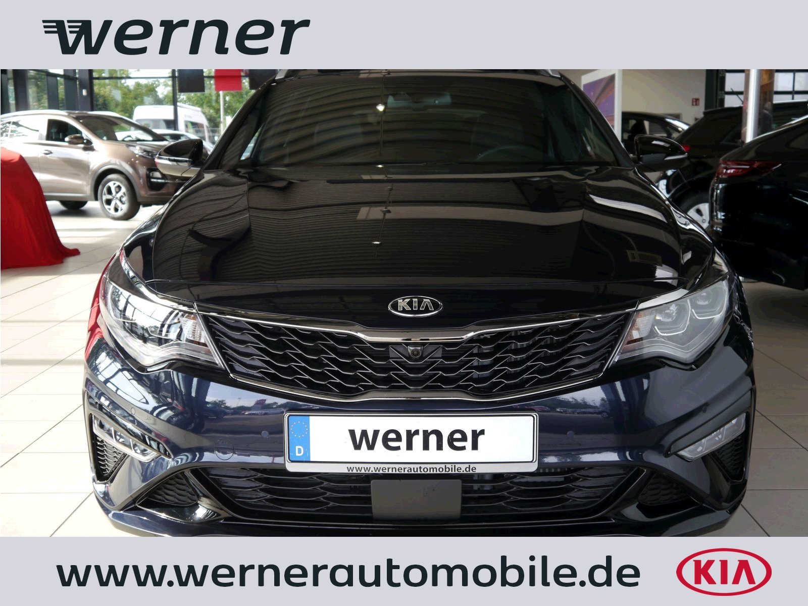 KIA Optima JF SW 1.6 CRDi GTL DCT Techno GD Luxus AHK
