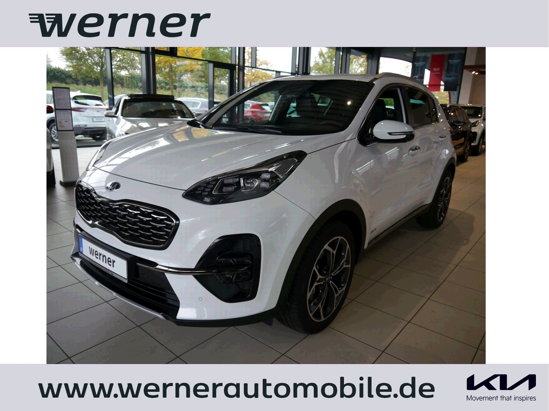 KIA Sportage QLPE 2.0 CRDi 185 GT Line AWD AT Tech