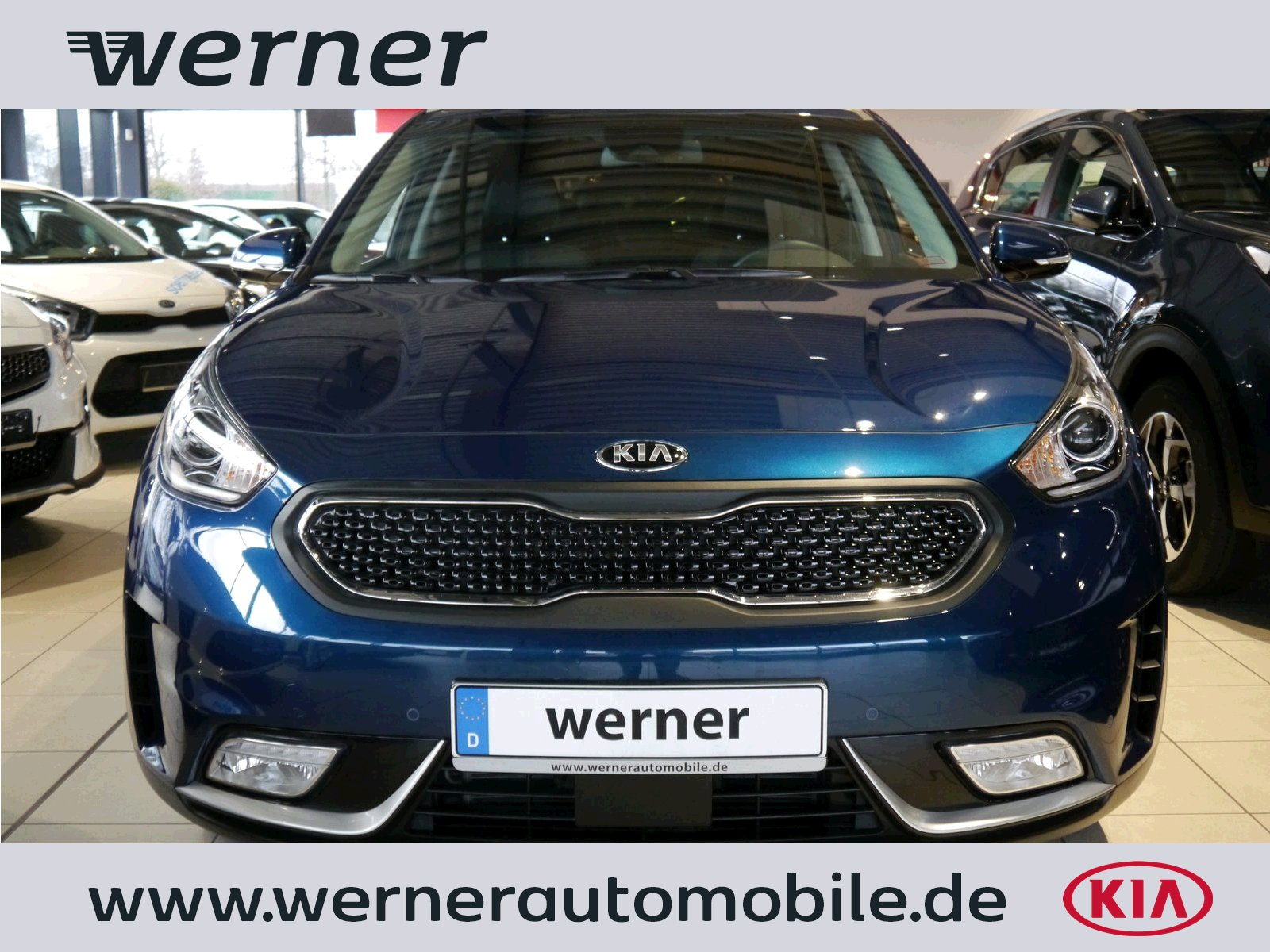 KIA Niro 1.6 Hybrid Spirit Leder GD Advanced