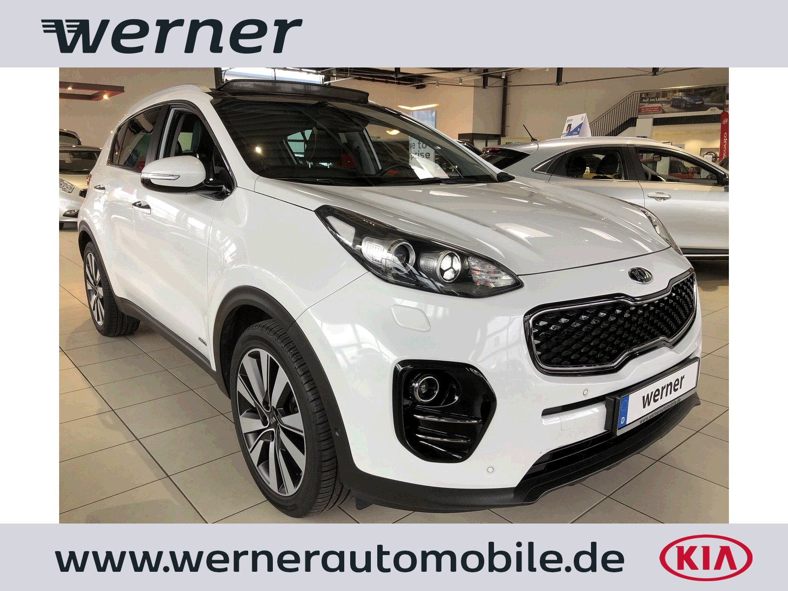 KIA Sportage 2.0 CRDi 185 Spirit AWD AT GD Tech Led