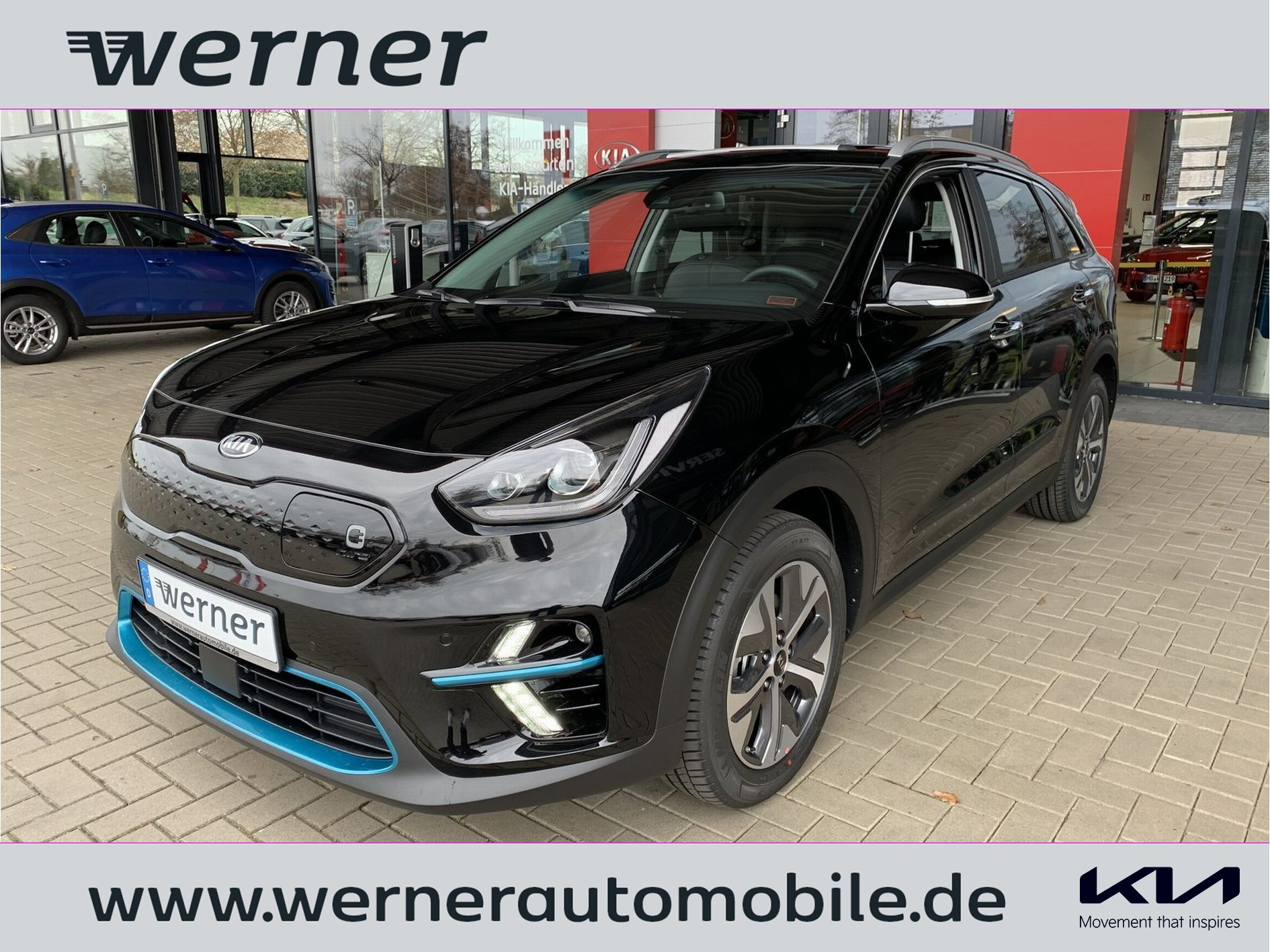 KIA Niro EV 204 Spirit 3PH GD Leder Interieur