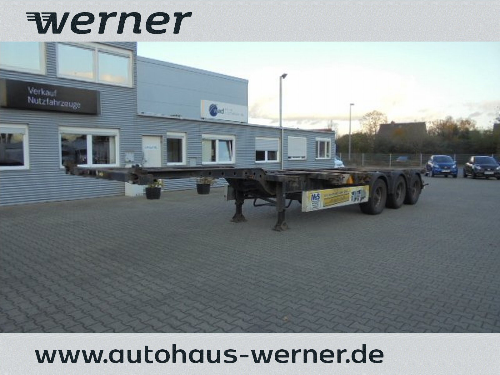 KRONE SDC 27 Container Chassis