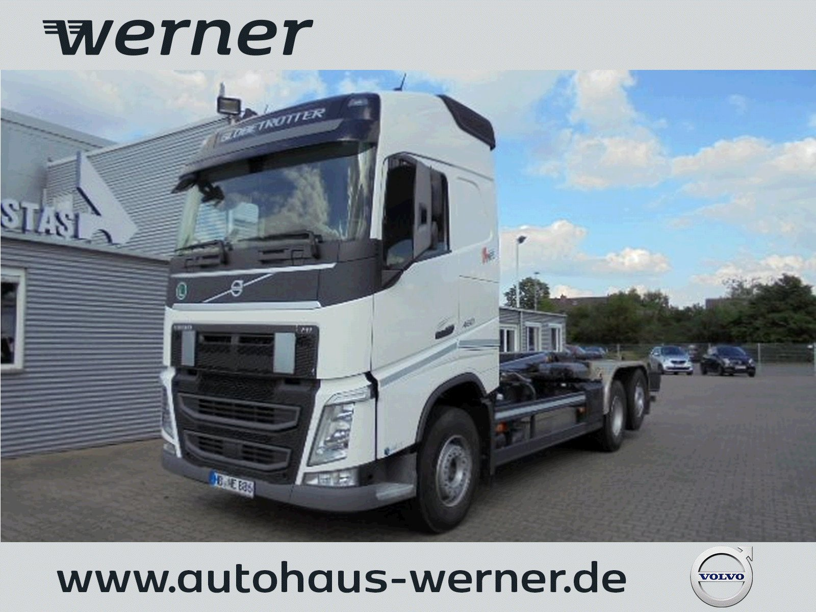 VOLVO FH 460 6x2 FG Meiller Abroller RS 21.70